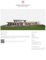 Immobiliare Brunati - Brochure Rif: CV - 159