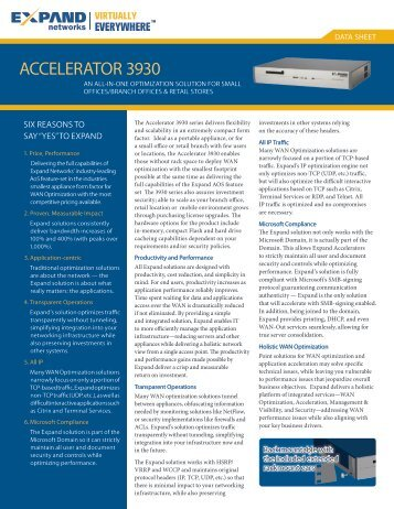 ACCELERATOR 3930 - Scunna Network Technologies