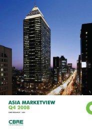 CBRE: Asia Market View Q4 2008 - Redas.com