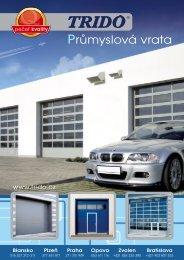 Prospekt - průmyslová vrata (formát .pdf) - Garážová vrata Trido