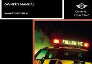 Official Navigation Manual - MotoringFile