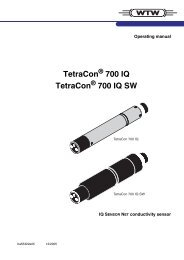 TetraCon 700 IQ TetraCon 700 IQ SW - Fagerberg