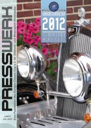 PRESSWERK Vol. 4/2012 - Euregio-Classic-Cup