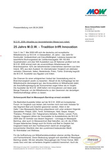 25 Jahre M.O.W. – Tradition trifft Innovation