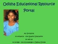 Odisha Eduation Resource Portal - General Administration Dept.