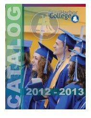 2012 - 2013 Grays Harbor College General Catalog