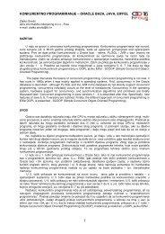 1 konkurentno programiranje – oracle baza, java, eiffel - HrOUG