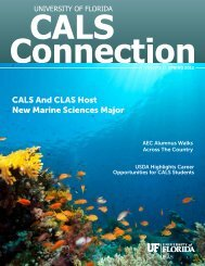 CALS And CLAS Host New Marine Sciences Major - College of ...