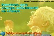Anestesia para cirurgia ambulatorial na criança - Escola Médica ...