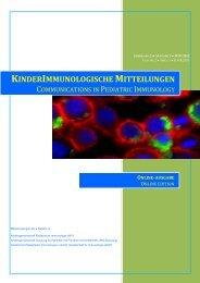 Ausgabe 1 (Juni 2013) - Arbeitsgemeinschaft Pädiatrische ...