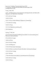 Vorläufiges Programm Ittingen 2010 - Arbeitsgemeinschaft ...