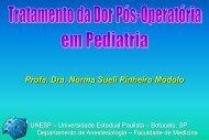 Profa. Dra. Norma Sueli Pinheiro Módolo - Escola Médica Virtual da ...