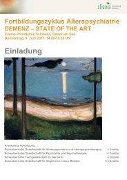 STATE OF THE ART Clienia Privatklinik Schlössli ... - Murg Stiftung