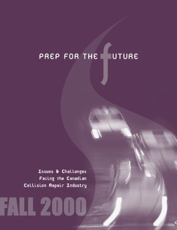 Prep for the Future - Automotive Industries Association of Canada
