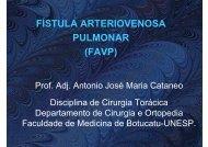 fístula arteriovenosa pulmonar - Escola Médica Virtual da Faculdade ...
