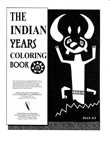 Indian Years Coloring Book - The State of Water