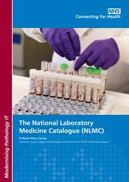 The National Laboratory Medicine Catalogue (NLMC) - NHS ...
