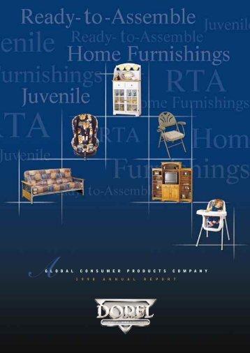 1998 Annual Report - Dorel Industries