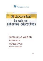 11 Mantenimiento del espacio web - Ministerio de Educación ...