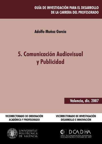 5. Comunicación Audiovisual y Publicidad - Universidad Politécnica ...