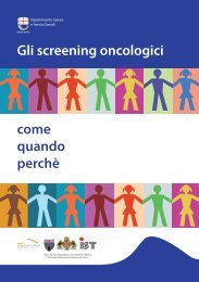 Screening oncologici 2013
