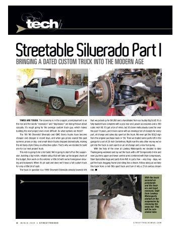 Streetable Silverado Part I