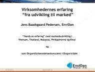 """Virksomhedernes erfaring """"fra udvikling til marked"""" - Danish Water ..."""