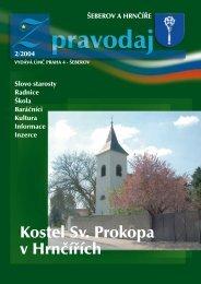 Kostel Sv. Prokopa v Hrnčířích - Šeberov