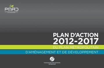Plan d'action 2012-2017 du Plan métropolitain d ... - PMAD