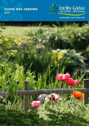 Guide des Jardins sans limites - Comité du tourisme en Moselle