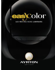 Color Brochure (pdf) - Elation Professional