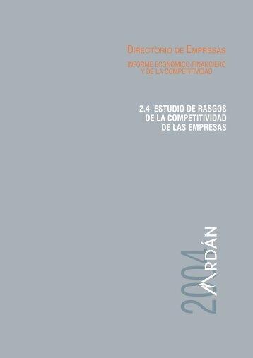 2.4.1 Las empresas gacela - Ardan