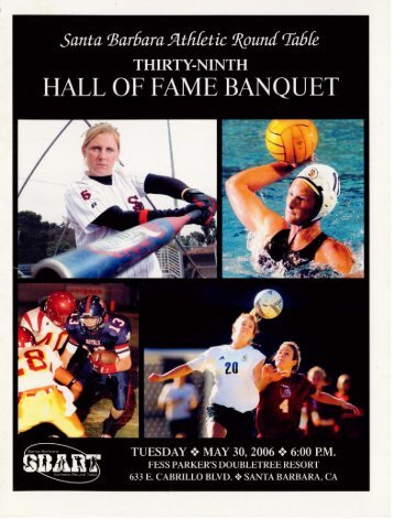 Download the 2006 Hall of Fame Banquet Program in PDF format