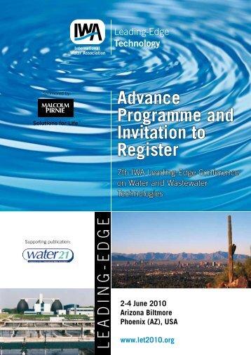 2-4 June 2010 Arizona Biltmore Phoenix (AZ) - IWA