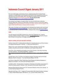 January - Asian Studies Association of Australia
