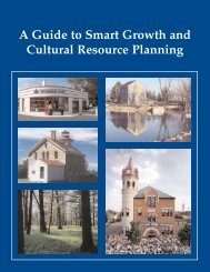 Guide to Smart Growth and Cultural Resource Planning