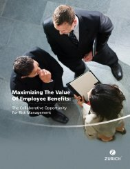 Maximizing The Value Of Employee Benefits: - Zurich