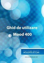 Ghid de utilizare Mood 400 - Moldtelecom