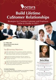 Build Lifetime Customer Relationships - Octara.com