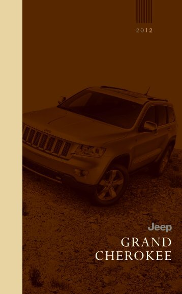 2012 Jeep Grand Cherokee - Chrysler Commercial Vehicles