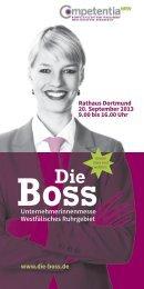 DieBoss (PDF - 17 MB) - Wirtschaftsförderung Dortmund