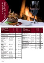 eating guide - Mount Gambier Tourism