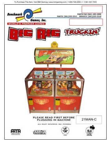 Big Rig Truckin - BMI Gaming