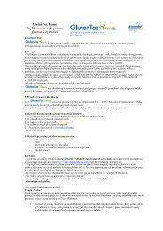 GlutenTox Home Szybki test do wykrywania glutenu w ... - Celiakia