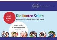 Die Bunten Seiten Wegweiser für Migrantenvereine und -eltern ...