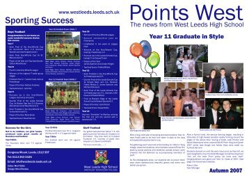 points west autumn 07 NEW - Eteach