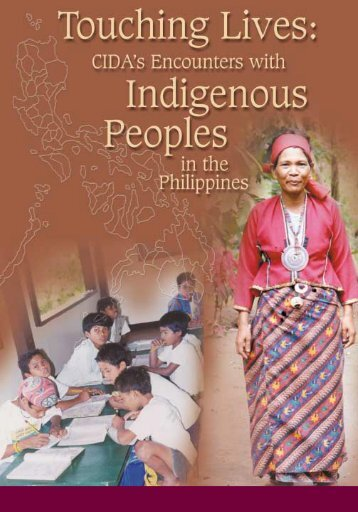 Touching Lives: CIDA - Ethnic Filipinos, Indigenous & Tribal Groups