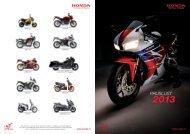 Prijslijst 2013 (PDF, 4.6 MB) - Honda