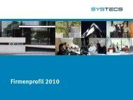 2010 systecs - SYSTECS Informationssysteme GmbH