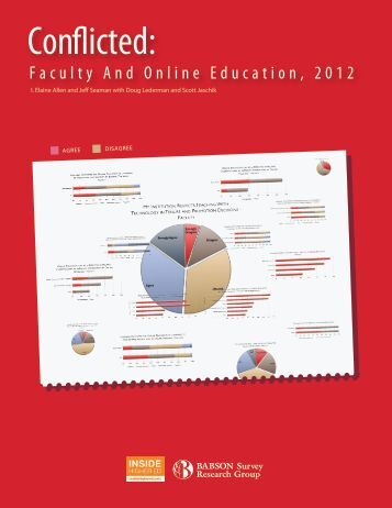 Conflicted: Faculty and Online Education, 2012 - Inside Higher Ed